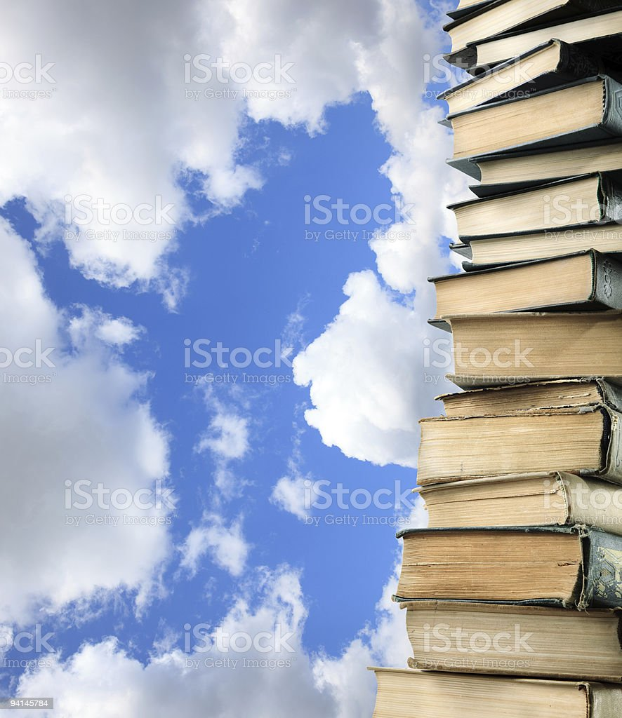 knowledge for freedom royalty-free stock photo