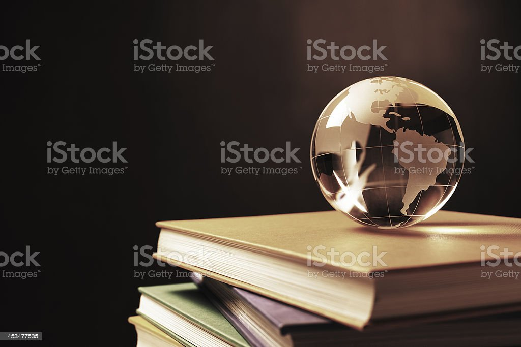 Knowledge of the World royalty-free stock photo