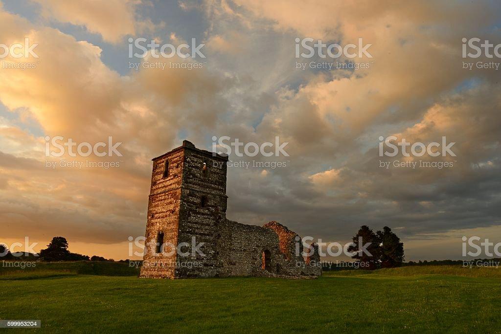 Knowlton Sunset stock photo