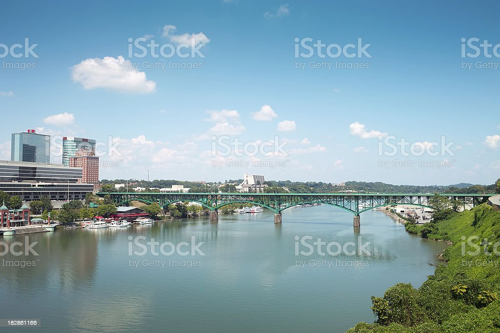 Knoxville city stock photo