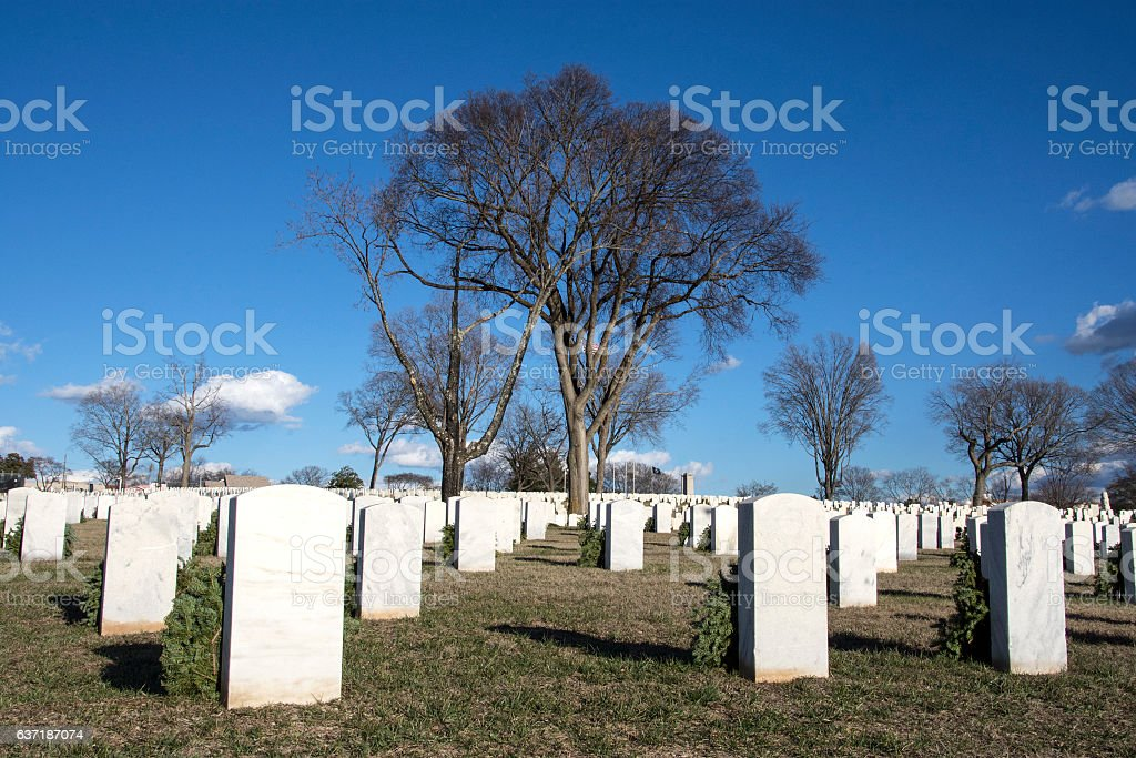 Knoxville National Cemetery stock photo