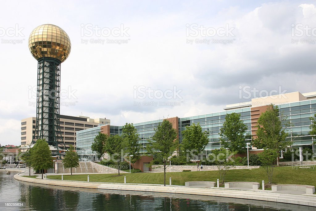 Knoxville Park stock photo