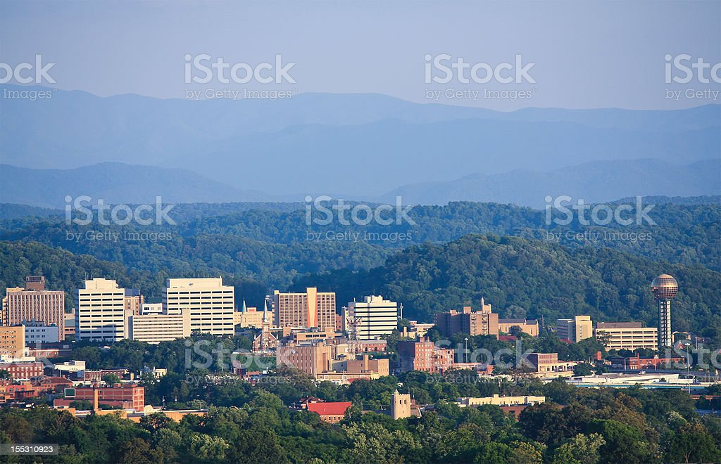 Knoxville Skyline stock photo