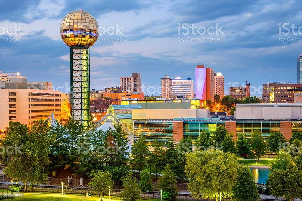 Knoxville, Tennessee, USA stock photo