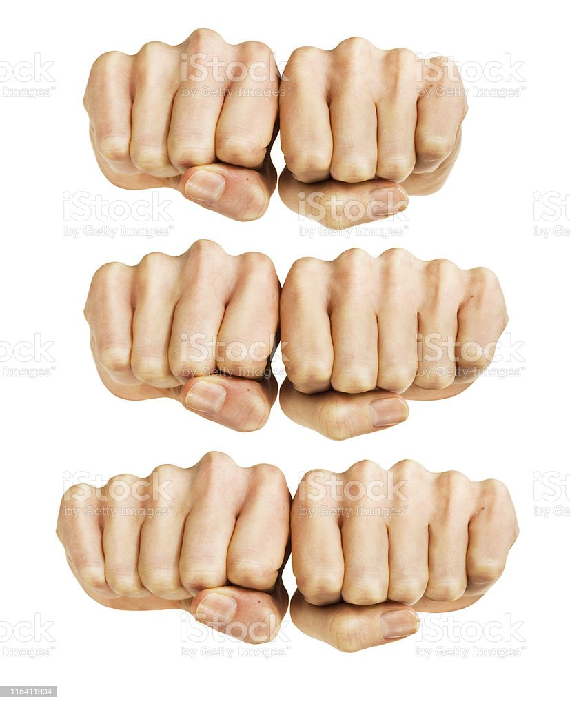 knuckles stock photo