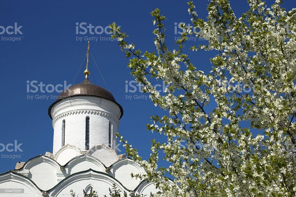 Knyaginin monastery Golden Ring Vladimir Russia royalty-free stock photo