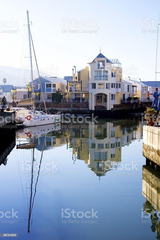 Knysna harbour royalty-free stock photo