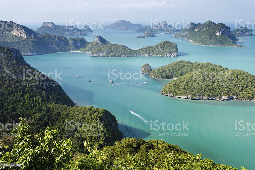 ko angthong marine park stock photo