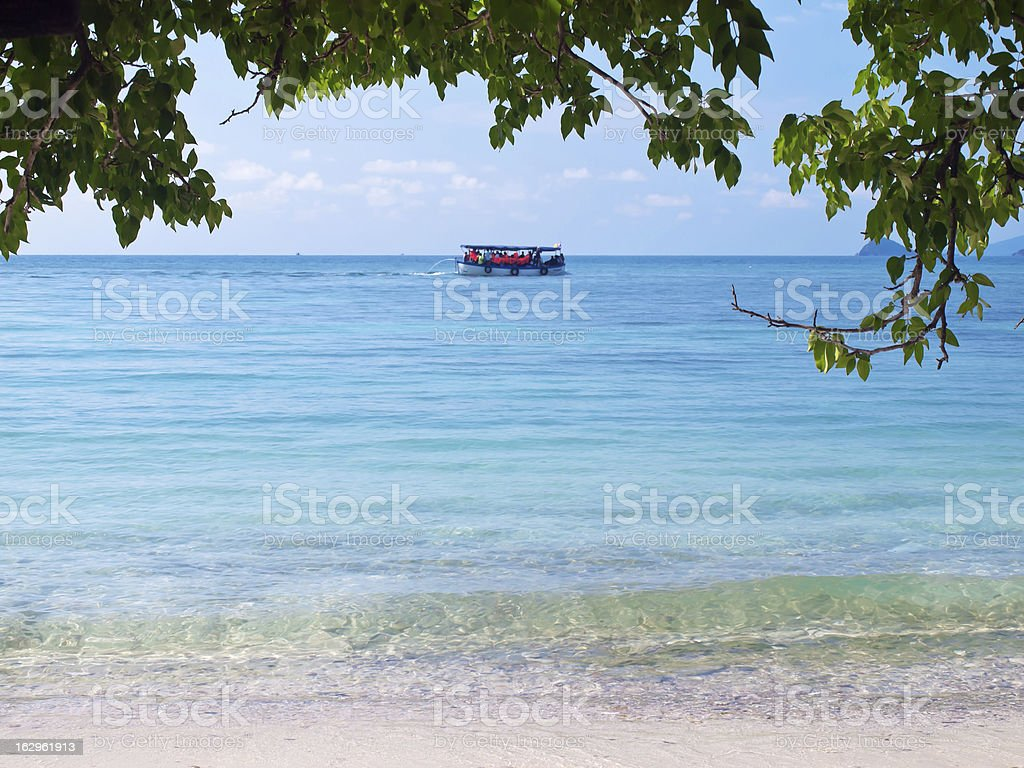 Ko Kham island stock photo