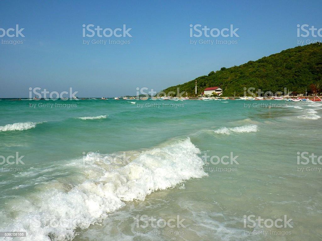 Ko Larn island turquoise water, Pattaya, Thailand stock photo