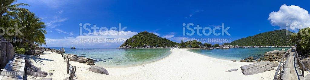 Ko Nang Yuan beach, Thailand stock photo