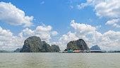 Ko Panyi or Koh Panyee, floating fishing village in Thailand