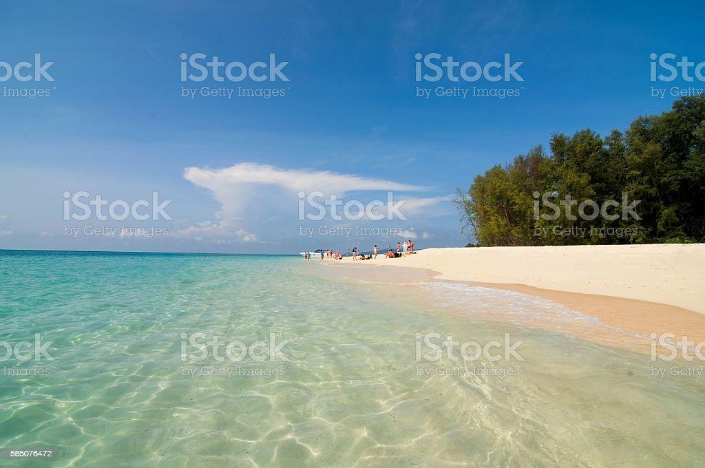 Ko Phai (Bamboo Island), Krabi Province, Thailand stock photo