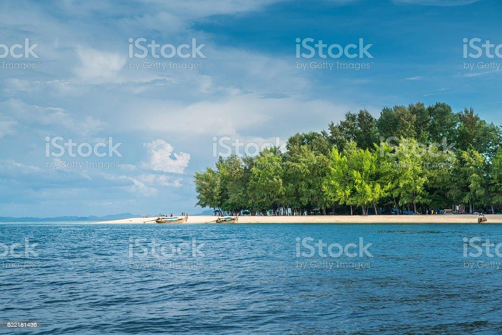 Ko Phai or Bamboo Island, Krabi Province, Thailand stock photo