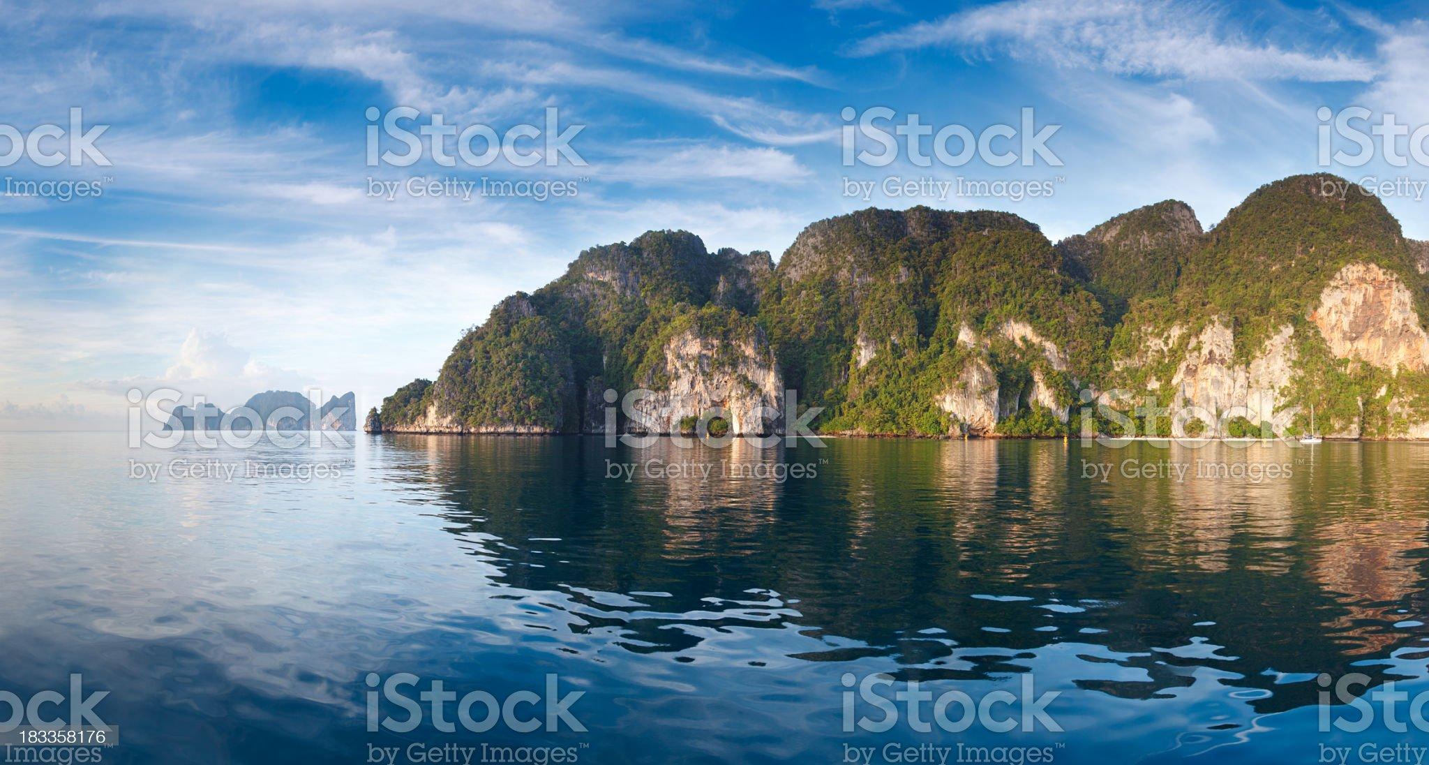 Ko PhiPhi Don royalty-free stock photo