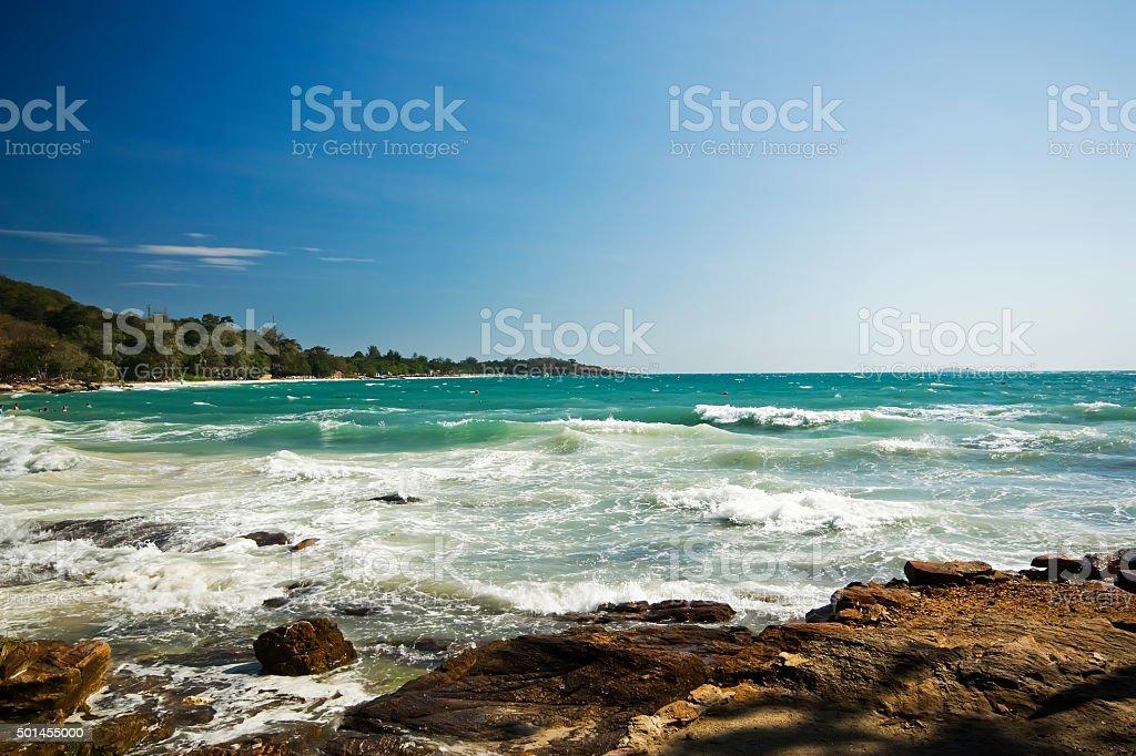 Ko Samed Beach Thailand royalty-free stock photo