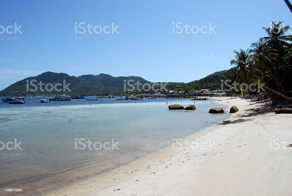 Ko Tao beach royalty-free stock photo