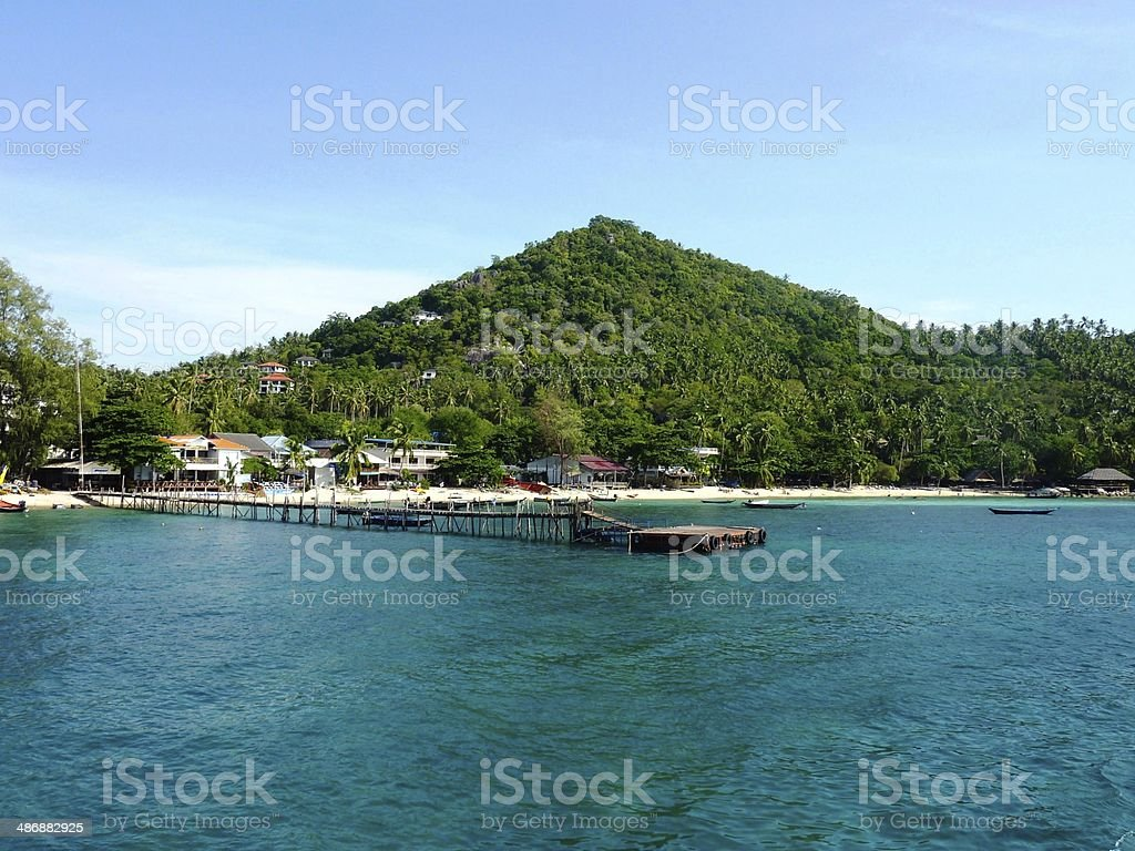Ko Tao Island, Thailand royalty-free stock photo