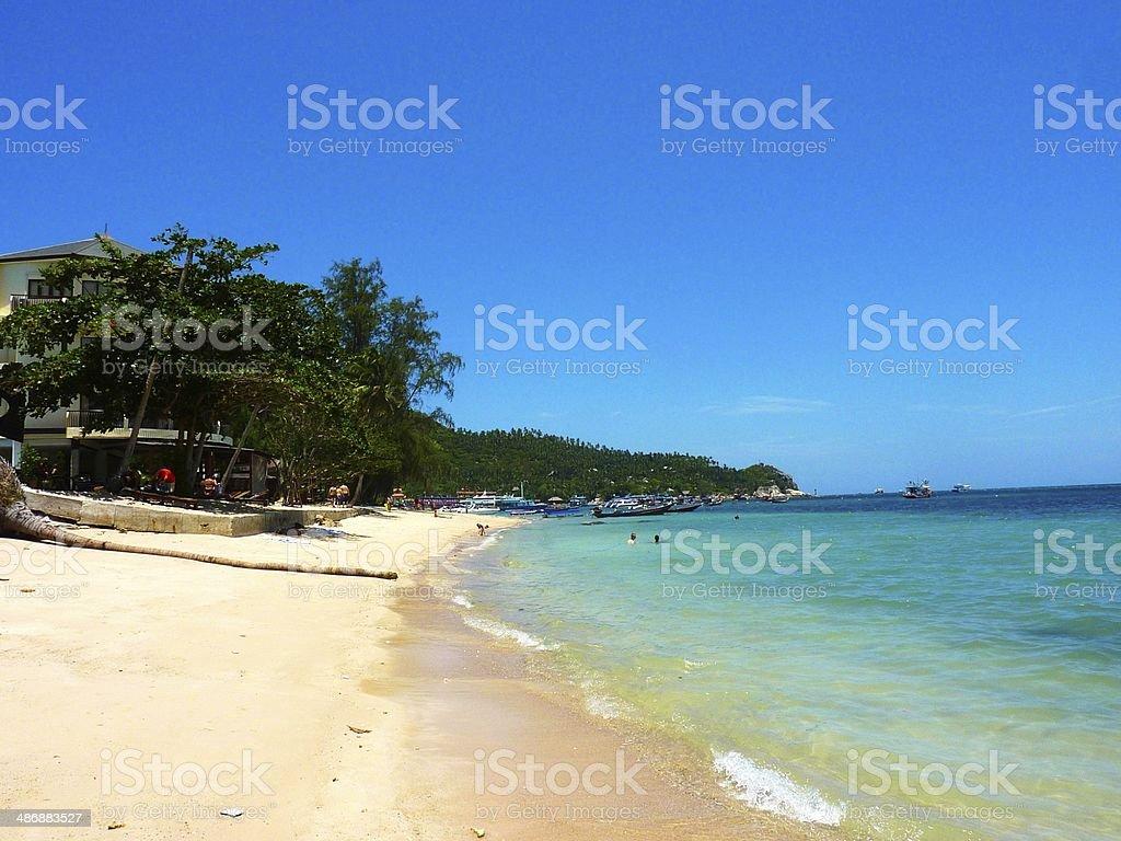 Ko Tao Island, Thailand royalty-free stock photo