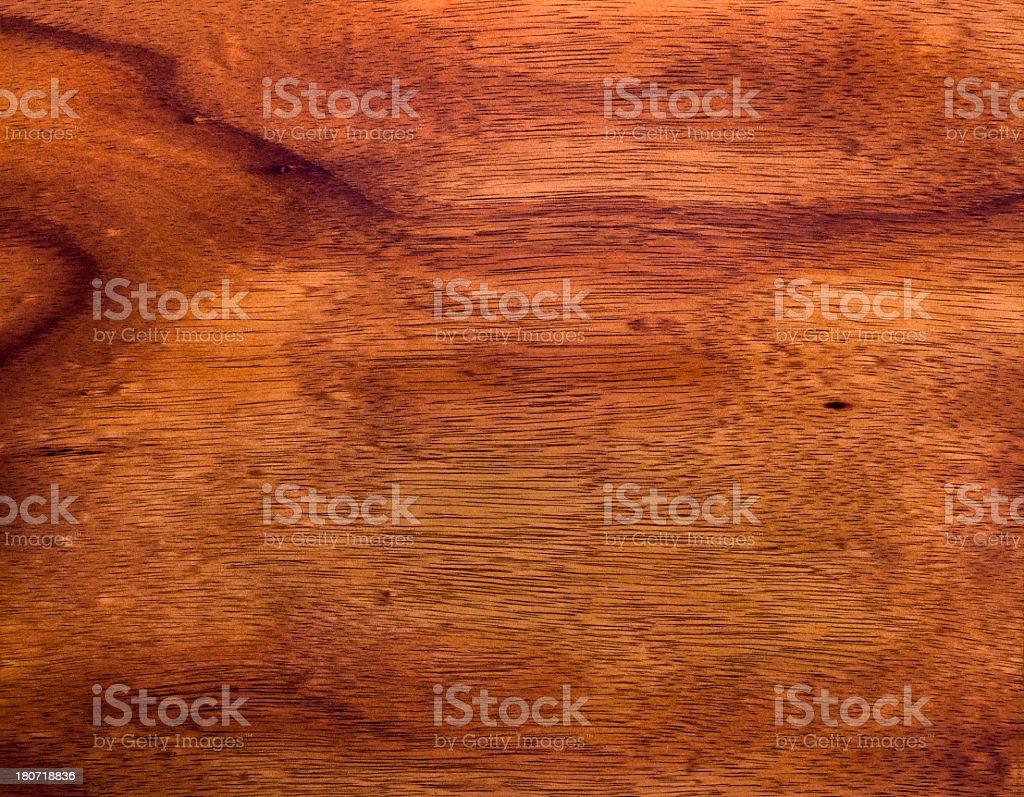 Koa Wood Grain Background stock photo