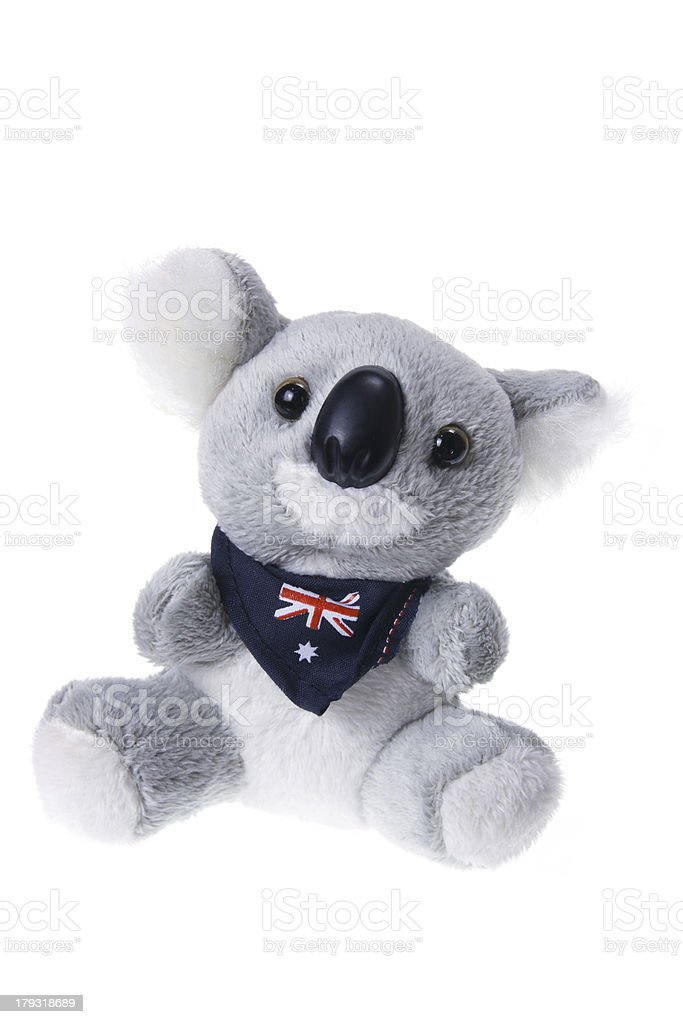 Koala Soft Toy royalty-free stock photo