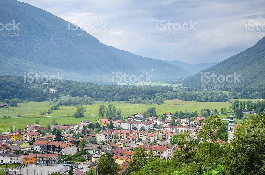 Kobarid, Slovenia stock photo