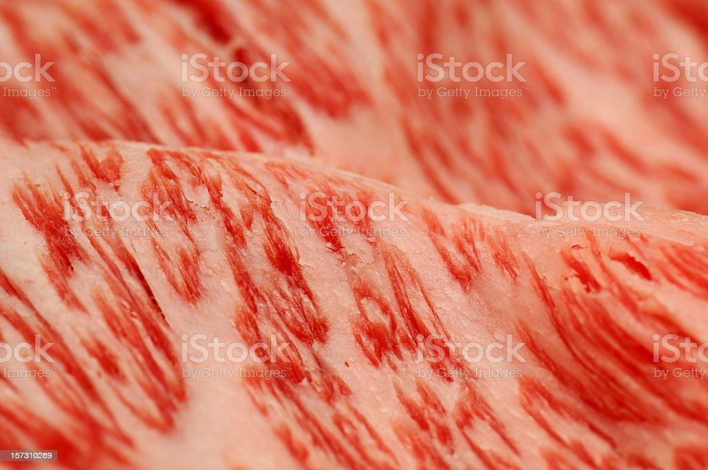 Kobe beef stock photo