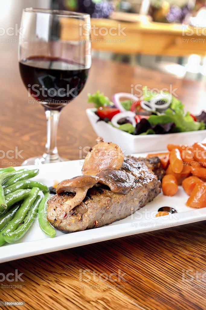 Kobe Beef Steak royalty-free stock photo