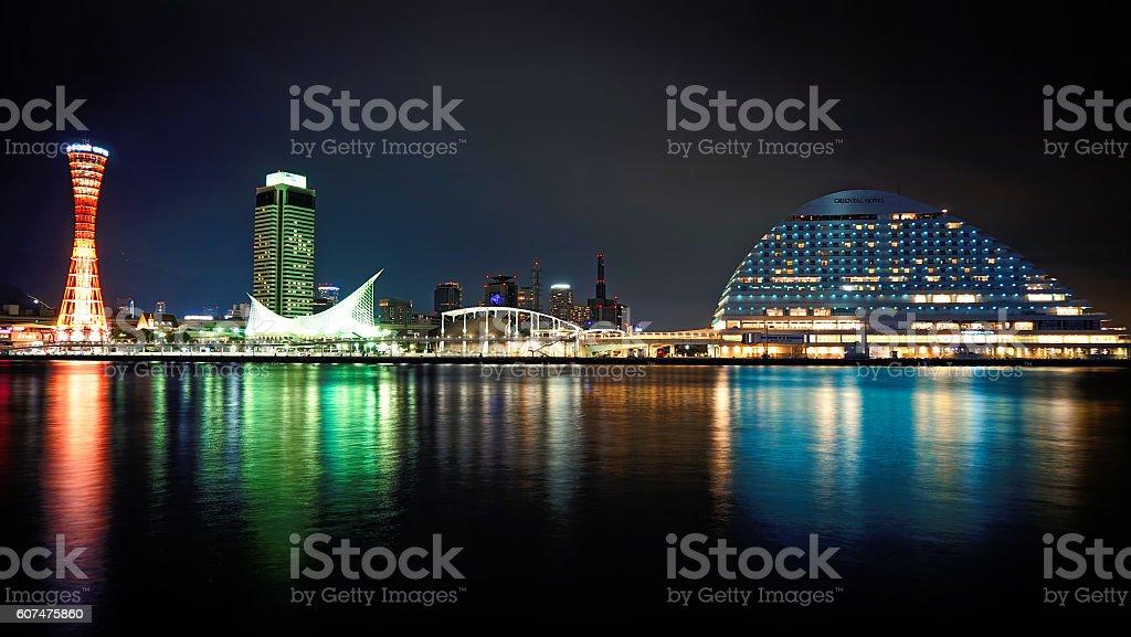 Kobe Skyline stock photo
