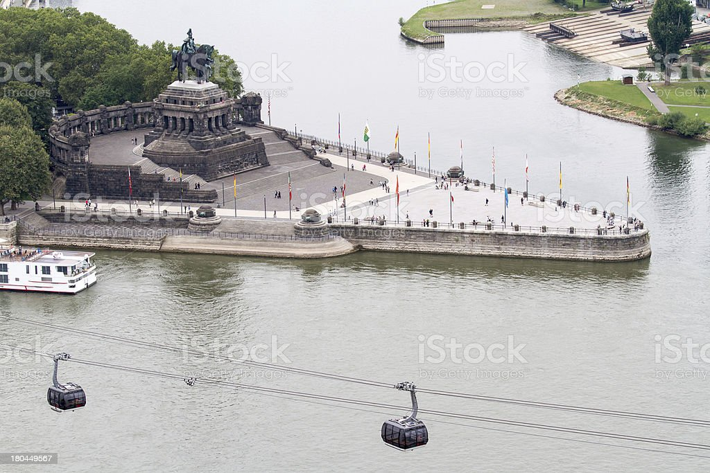 Koblenz, Germany stock photo