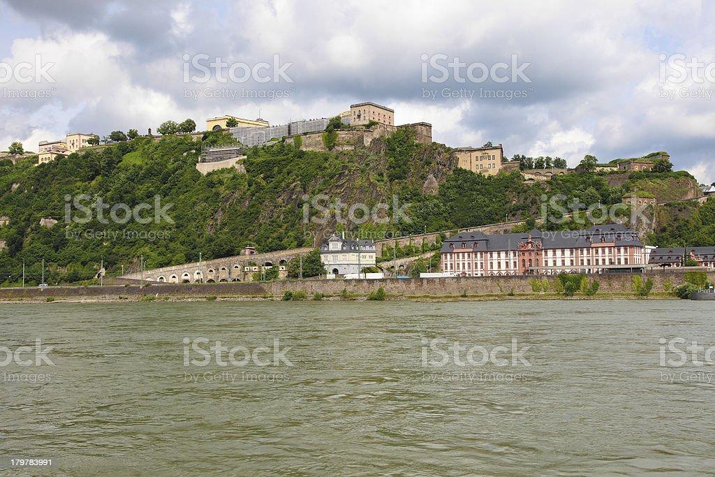 Koblenz royalty-free stock photo