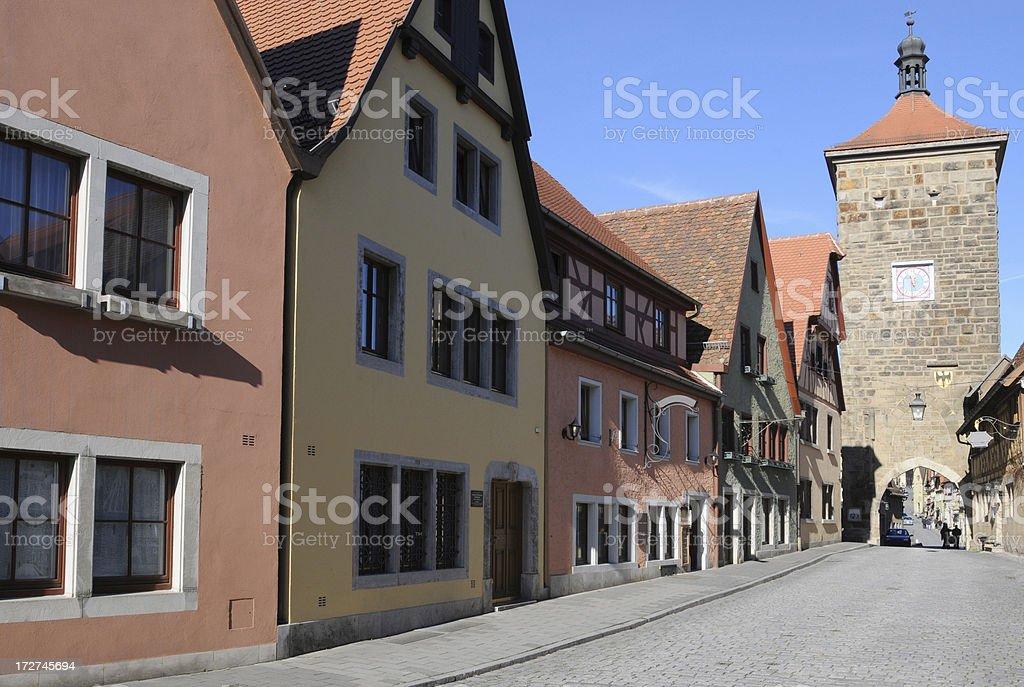 'Kobolzell Gate, Rothenburg' stock photo