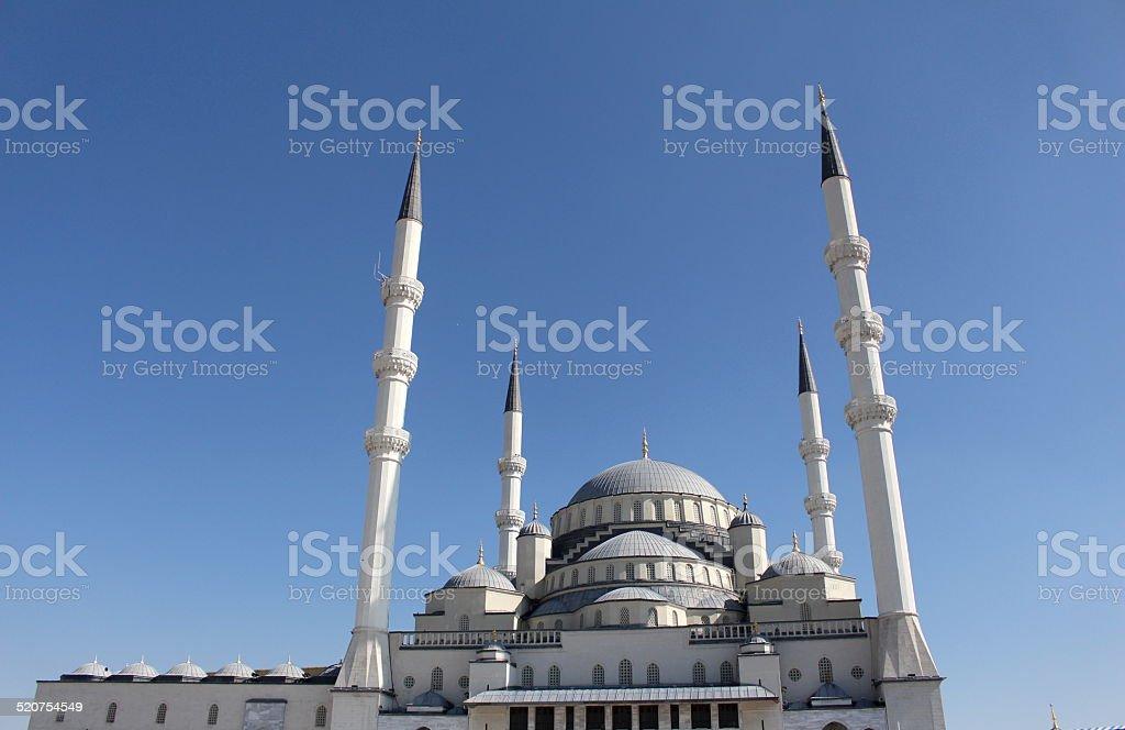 Kocatepe Mosque , Ankara Turkey stock photo