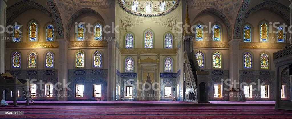 Kocatepe Mosque Interior stock photo