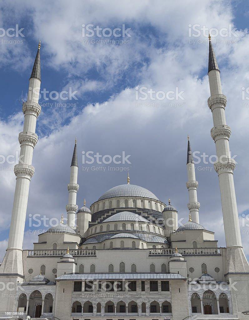 Kocatepe Mosque stock photo