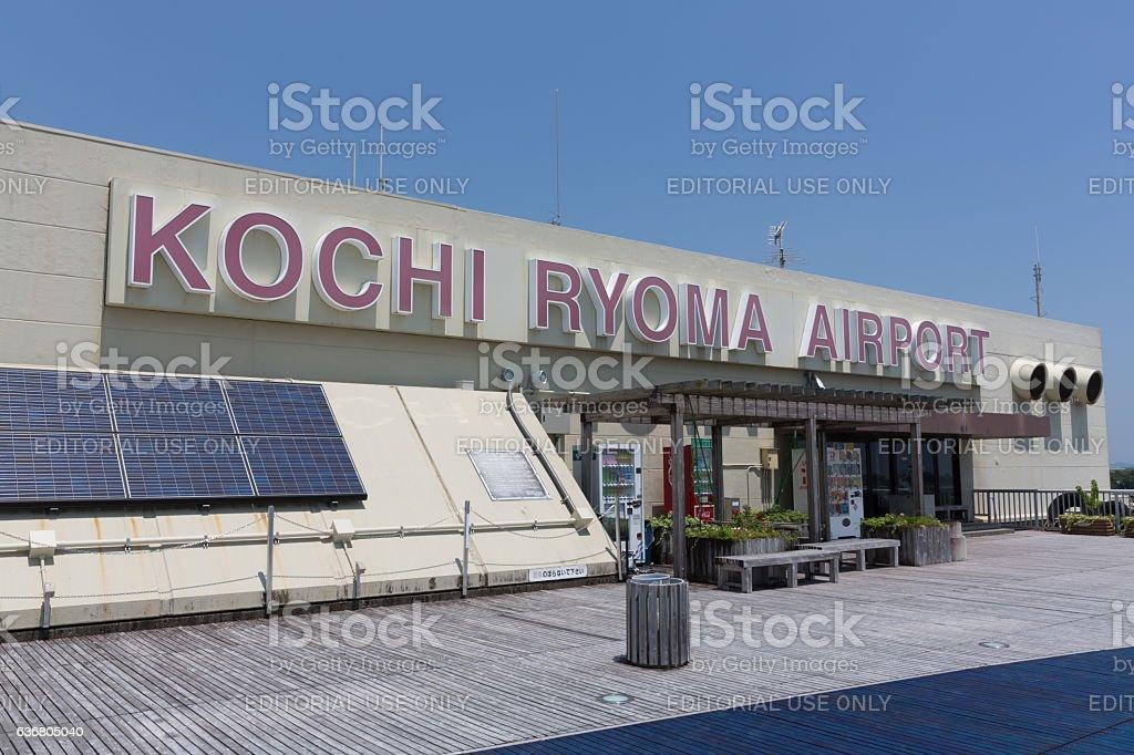 Kochi Ryoma Airport in Kochi Prefecture, Japan stock photo