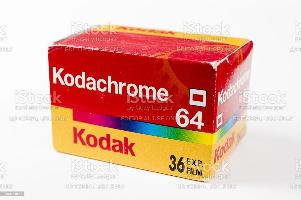 Kodachrome 64 film pack royalty-free stock photo