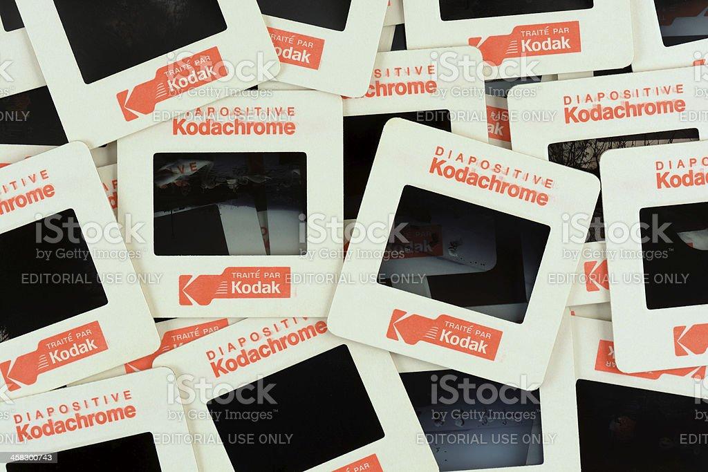 Kodachrome Framed Slides royalty-free stock photo