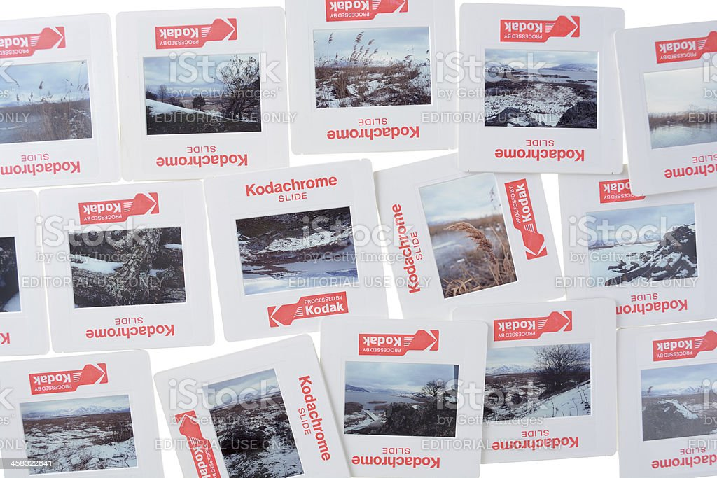 Kodachrome Slides royalty-free stock photo