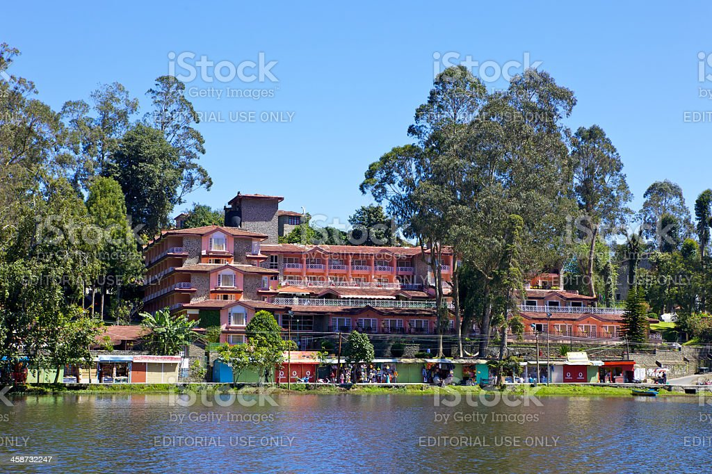 Kodaikanal, India - Carlton Hotel stock photo