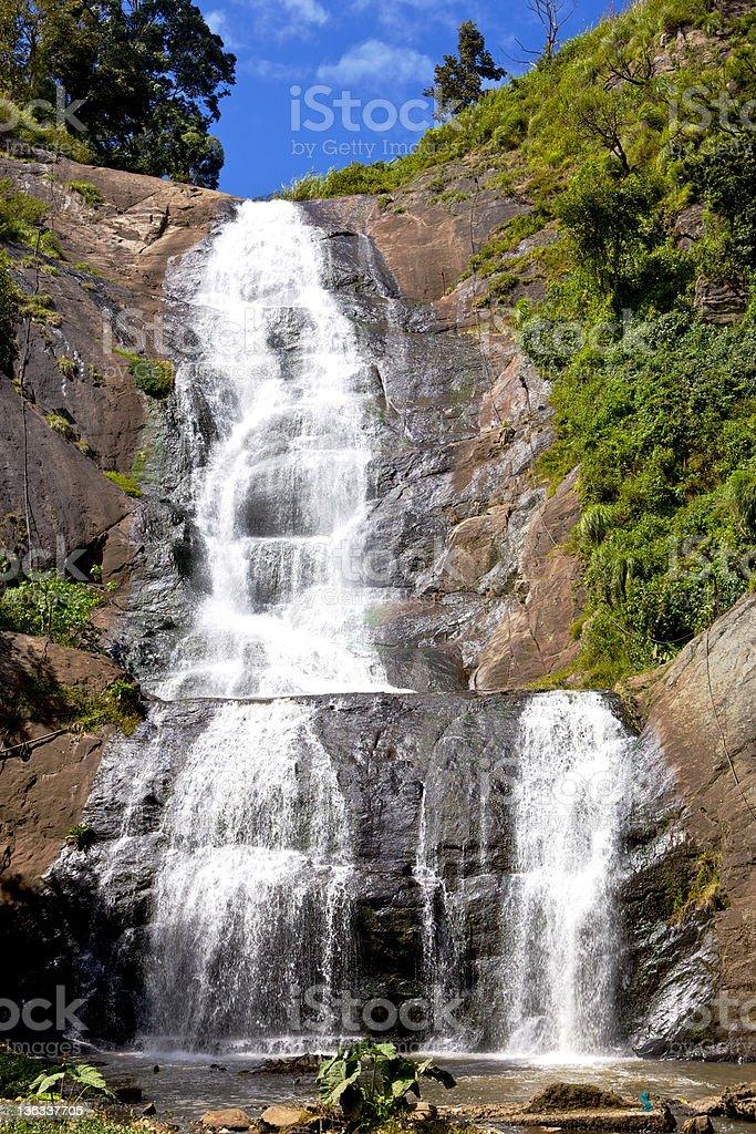 Kodaikanal, India - Silver Cascade Falls stock photo