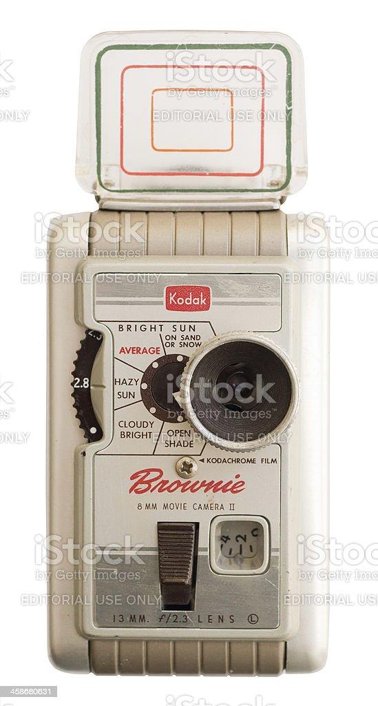 Kodak Brownie 8mm Camera royalty-free stock photo