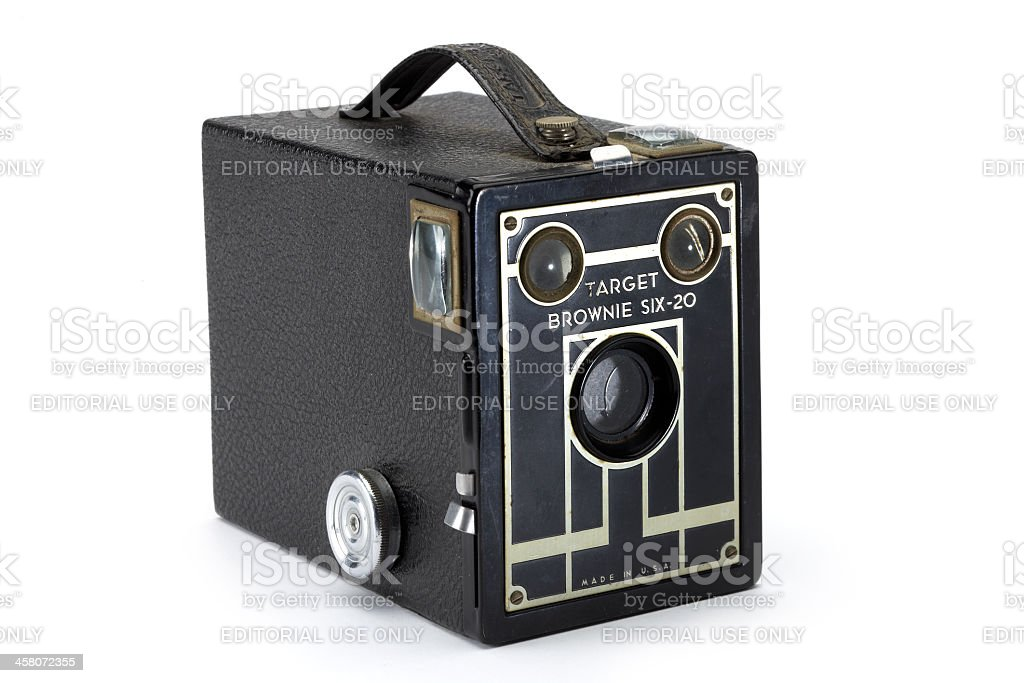 Kodak Brownie Box Camera royalty-free stock photo