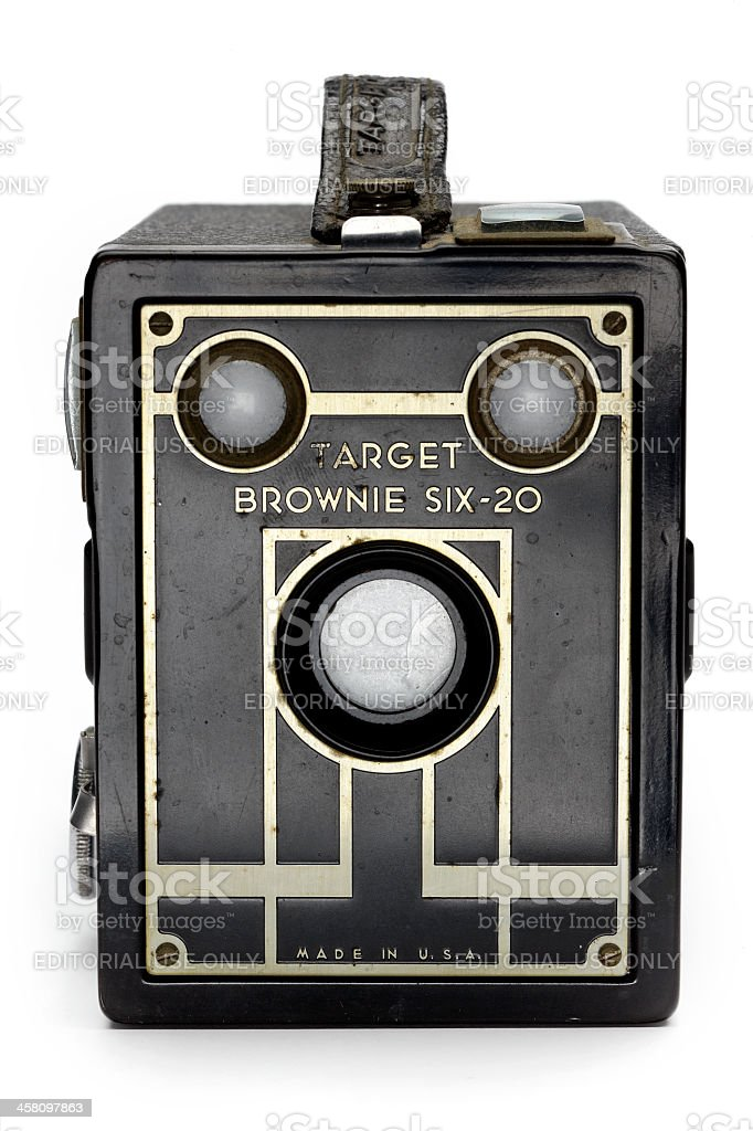 Kodak Brownie Box Camera royalty-free stock photo