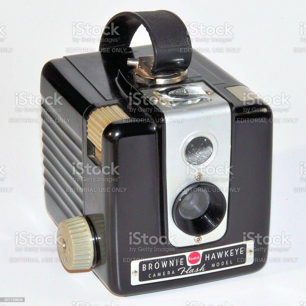 Kodak Brownie Hawkeye stock photo