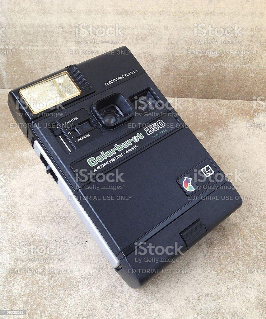 Kodak Colorburst 250 Instant Camera royalty-free stock photo