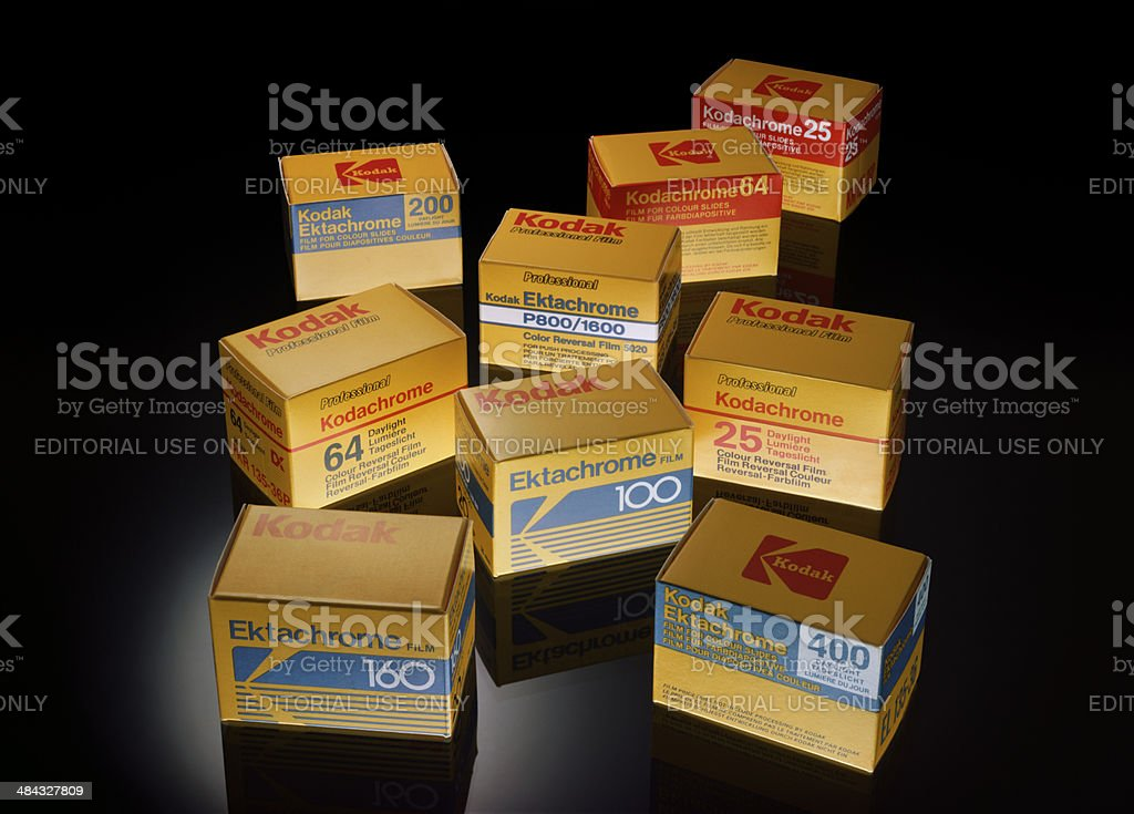 Kodak royalty-free stock photo