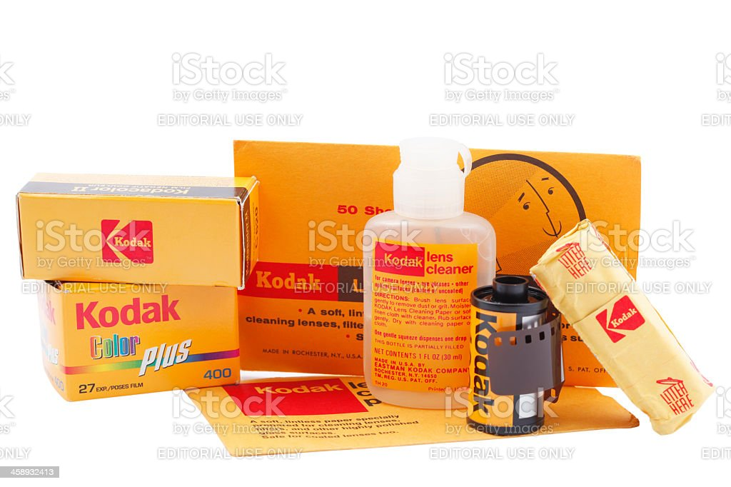 Kodak Products stock photo