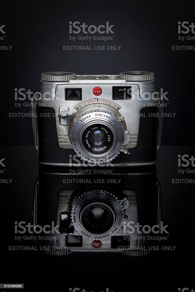 Kodak Reflections stock photo