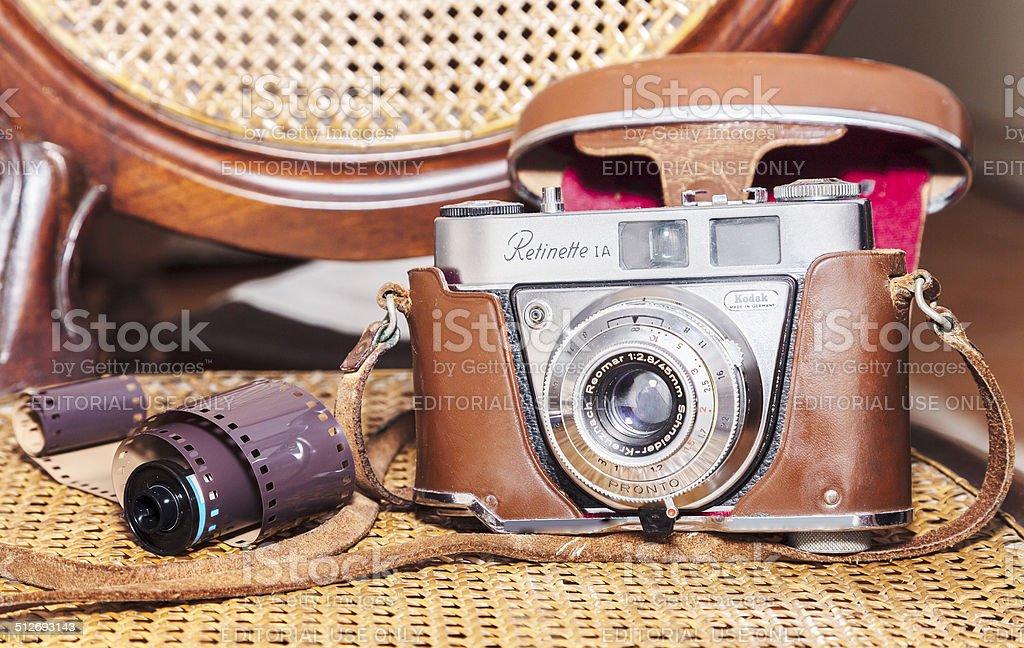 Kodak Retinette IA stock photo